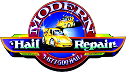 Modern Hail Repair Inc, Logo